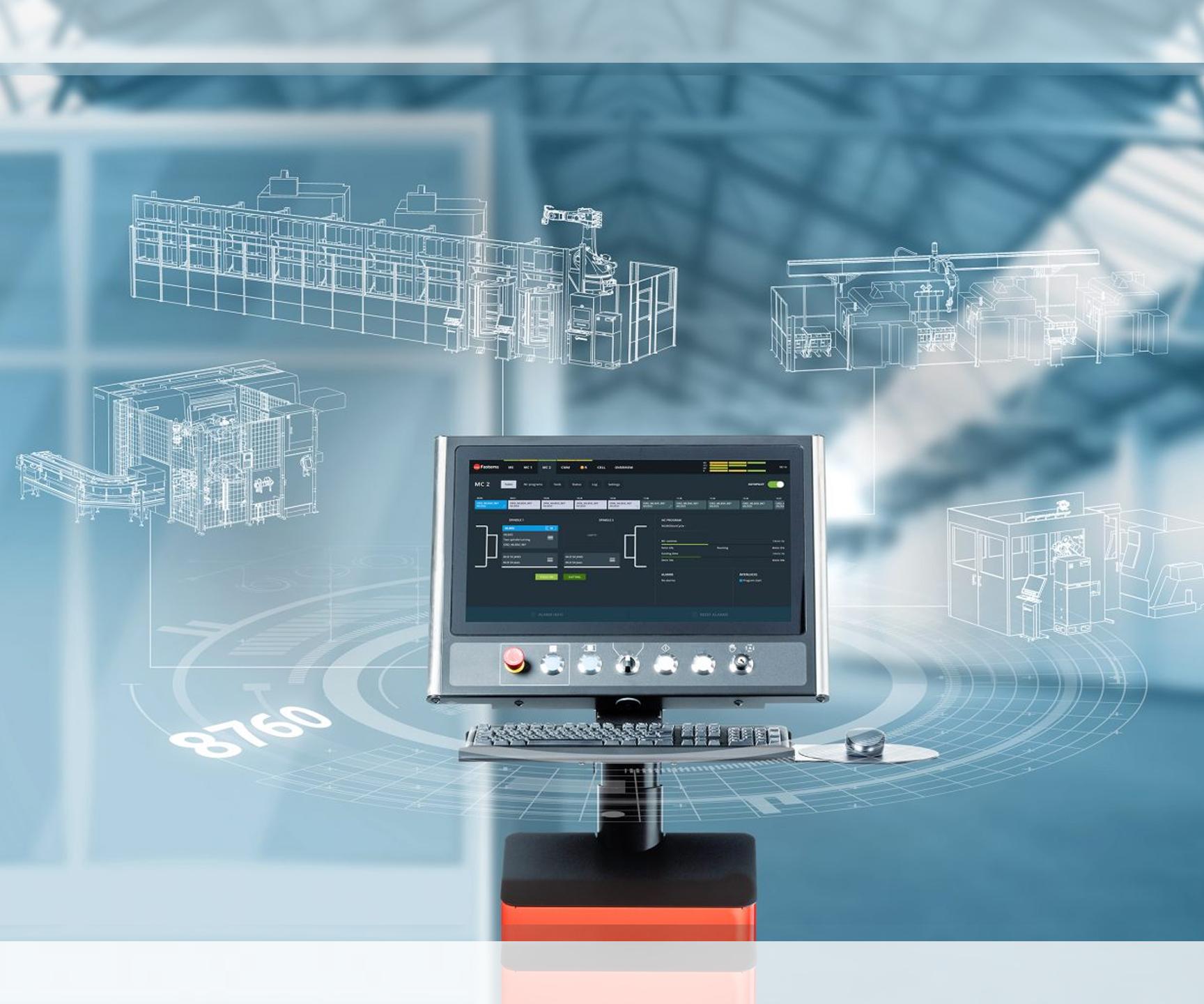 Software de gestión de fabricación (MMS), de Fastems.