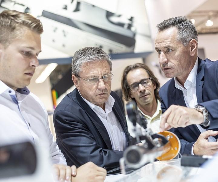 Sostenibilidad en la fabricación de máquinas herramienta y la industria metalmecánica. En ferias como la AMB, los expositores presentarán soluciones concretas que reducen la huella de carbono de sus máquinas. Crédito: AMB.