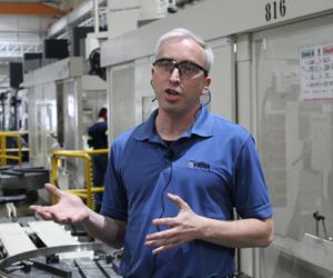 El ingeniero Alejandro Montemayor ha trabajado durante 15 años en el área de mecanizados de Frisa Aerospace y ha sido el gestor del mejoramiento de la producción de esta división de Frisa Aerospace a través de la adquisición de tecnología y la capacitación de los operadores.