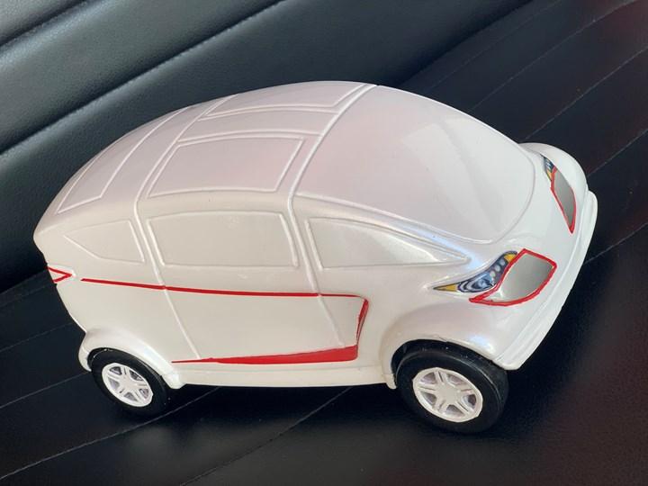 Prototipo del Thalía City impreso en 3D.