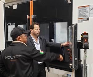 Según Rodolfo Martínez, director de la empresa, las máquinas de Mazak son muy fáciles de programar y tienen un sistema de programación muy amigable,.