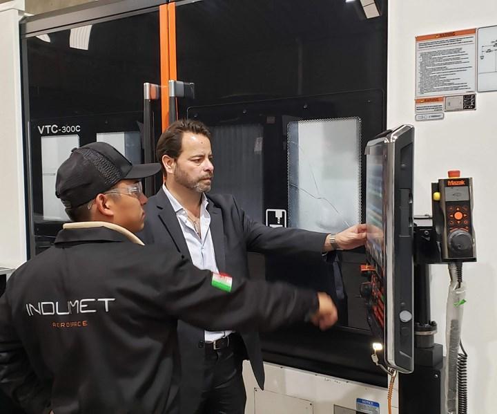 La mayoría de los proyectos que hace Indumet Aerospace son desarrollos muy rápidos. Para ello, trabaja con máquinas CNC de última tecnología, como las Mazak.