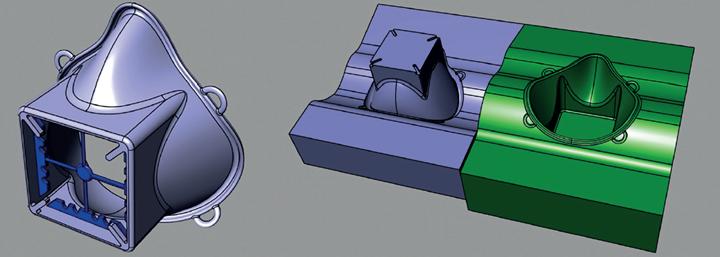 Imagen 3. Primer CAD y particiones.