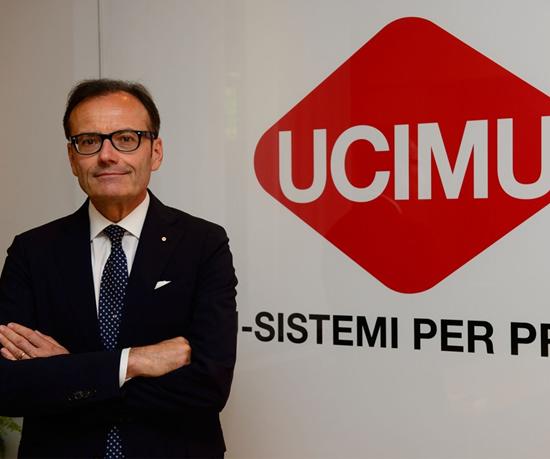 Massimo Carboniero, presidente de UCIMU-SISTEMI PER PRODURRE.
