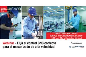 Aprenda a elegir el control CNC correcto para el mecanizado de alta velocidad
