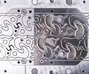 Los troqueles utilizados en el troquelado fino son modulares, con los componentes individuales ensamblados después del fresado en duro.