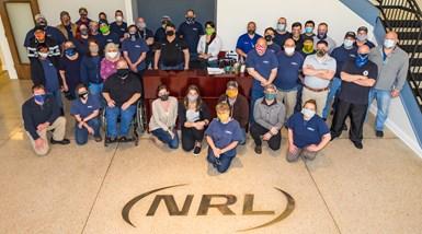 Los empleados de NRL & Associates se han enfrentado al desafío de producir componentes críticos durante una pandemia global.