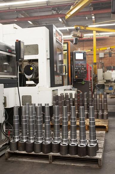 Ketchie confía en las máquinas Mazak para procesar rápida y eficientemente muchos de sus componentes de equipos industriales y maquinaria pesada hechos de piezas fundidas, forjadas y barras de acero en bruto.