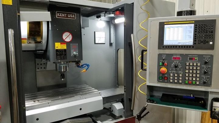 Cuando Journeyman Machine necesitaba una máquina rápida y precisa de conicidad 40 para sus piezas más pequeñas, los propietarios recurrieron a Kent Machinery.