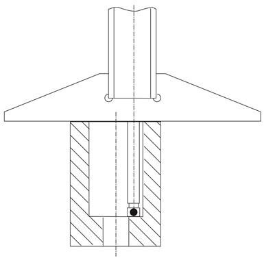 Otra clase de medidor de profundidad, como se ve en la Figura 4, está diseñada para agujeros pequeños. .
