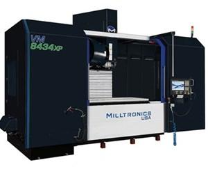 Centro de mecanizado vertical VM8434XP, de Milltronics.