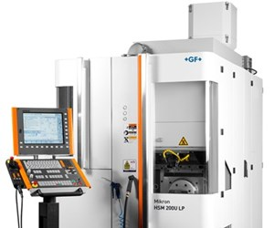 Centro de mecanizado HSM 200U LP, de GF Machining Solutions.