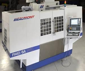 Electroerosionadora de agujero rápido FH40, de Beaumont Machine.