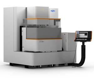 Electroerosionadora de hilo AgieCharmilles Cut 2000 X, de GF Machining Solutions.