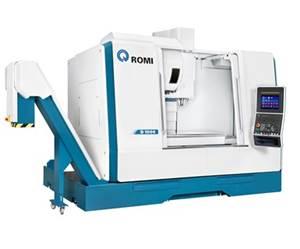 Centro de mecanizado vertical serie D, de Romi.