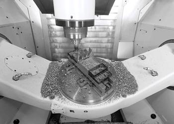 Centro de mecanizado de cinco ejes FZ 16 S, de Chiron Group.