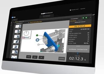 Software de monitoreo de datos de soldadura Insight Centerpoint, de Miller Electric Mfg.