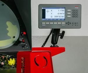 Sistema de lectura digital (DRO) MetLogix Mx200, deL.S. Starrett Co.