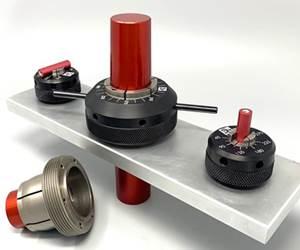 Herramienta de sujeción concéntrica para diámetros exteriores (OD), de Mitee-Bite Products.