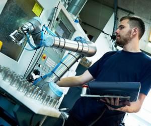 Implementación de cobots en la empresa Nymann Teknik, Dinamarca.