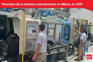 Así se comportó la industria manufacturera en México en 2020