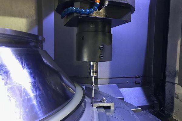 Sistema de medición automatizado hace la diferencia en el maquinado de piezas para el sector aeroespacial image