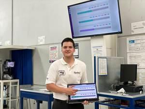 Aplicación mexicana para digitalizar piso productivo de empresas a distancia