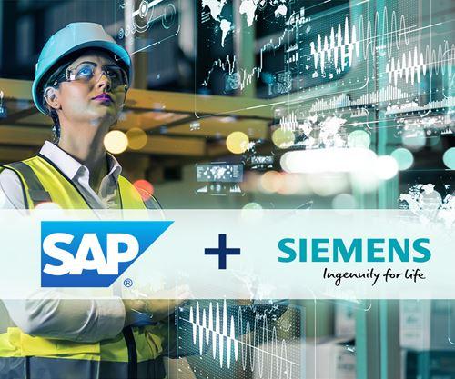Alianza entre Siemens y SAP.