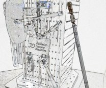 Estabilizador Unilock 50, de Big Kaiser.