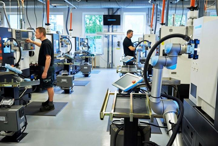 Taller Trelleborg Sealing Solutions, Dinamarca.