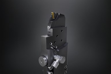 Sistema PTS de Horn y Kistler: el portaherramientas inteligente para máquinas de múltiples husillos Index mantiene informados a los usuarios sobre el estado de la herramienta durante el proceso de mecanizado.