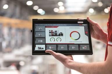 El asistente de proceso digital EMCONNECT proporciona conectividad para flujos de trabajo óptimos y mayor productividad.