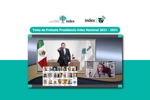 Index presentó a su Consejo Directivo para el periodo 2021-2022, el cual es presidido por Luis Manuel Hernández