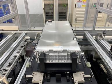 Ford informó que se trabaja en la formación de BlueOvalSK, una empresa conjunta con SK Innovation, para fabricar células y conjuntos de baterías.