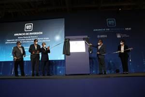 General Motors anunció una inversión de más de mil millones de dólares en el Complejo de manufactura de Ramos Arizpe.