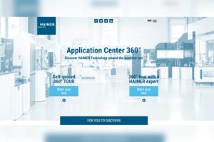 Los visitantesal Centro de Aplicaciones virtual de Haimer encontrarán informaciónen más de 40 máquinas y exhibidores de herramientas.