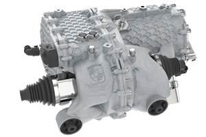 Carcasa de accionamiento eléctrico impresa en 3D por parte del equipo de Porsche.