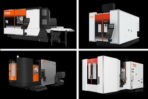Estas son algunas de las máquinas que estarán en demostración en el próximoAll Axes LIVE de Mazak.
