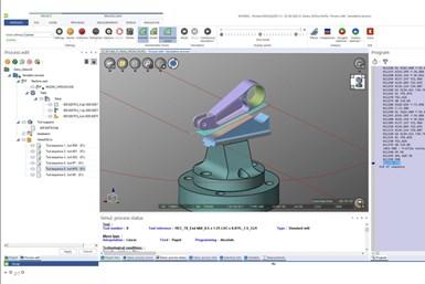 La nueva actualizaciónde NCSIMUL, de Hexagon Manufacturing Intelligence, aborda la inestabilidad de la máquina de cinco ejes.