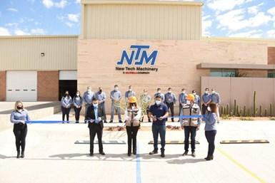 En su nueva planta, New Tech Machinery trabajará con procesos de mecanizado CNC, soldadura especializada y área de metrología.