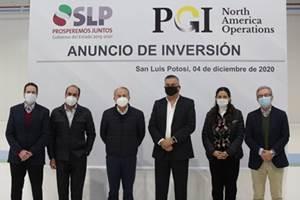 PGI to invest $27 million in San Luis Potosi