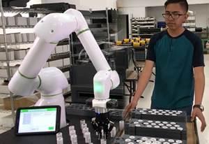 Productive Robotics ha lanzado Productive Analytics, un sistema seguro basado en la nube para el monitoreo remoto en tiempo real de los robots colaborativos OB7.