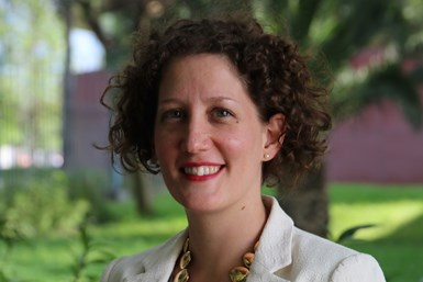 Claire Barnouin, directora ejecutiva del Monterrey Aeroclúster.