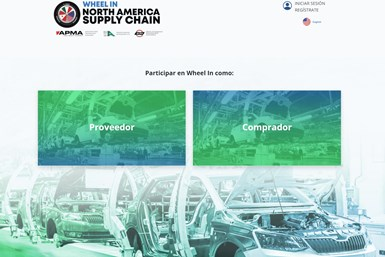 La plataforma integra las capacidades productivas específicas del sector automotriz