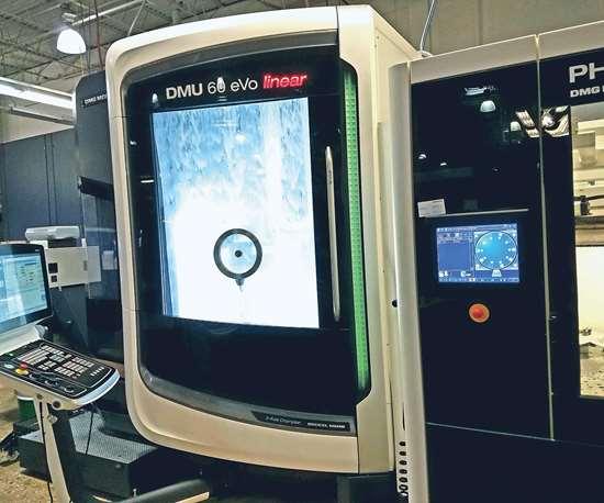 DMG MORI machine