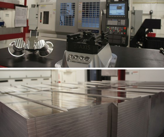 Five-axis workholding