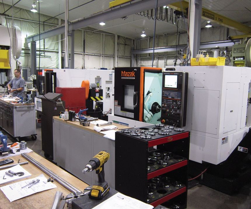 two Mazak Quickturn Nexus models