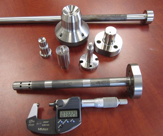 round tooling with high length to diameter ratios