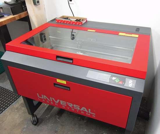 Universal Laser Systems machine