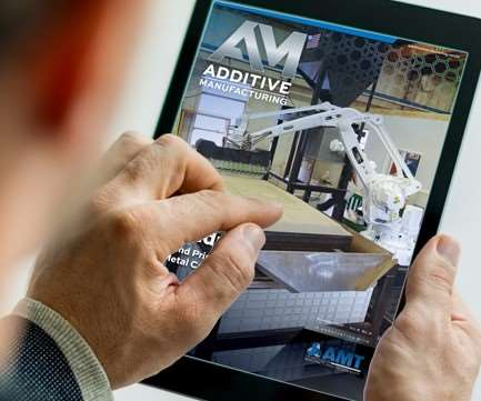 Additive Manufacturing November 2017 issue